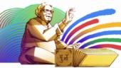 Google Doodle honours Purushottam Laxman Deshpande on his 101st birthday