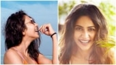 Rakul Preet Singh, in orange bikini, says smiles are contagious. Pics from Maldives