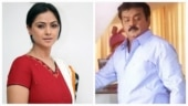 Simran calls Vijayakanth a great human being on 18 years of Ramana