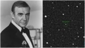 An asteroid named after actor Sean Connery. 'As cool as its namesake', says Nasa