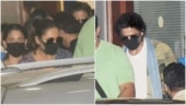 Shah Rukh Khan and family return from the UAE after KKR gets knocked out of IPL