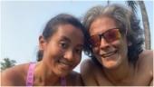Inside Milind Soman's birthday celebrations in Goa. Ankita Konwar shares best moments