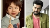 Taimur offers French Fries in new pic. Kareena calls Arjun their official photog