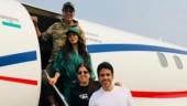 Akshay Kumar and Kiara Advani reach Delhi to promote Laxmii