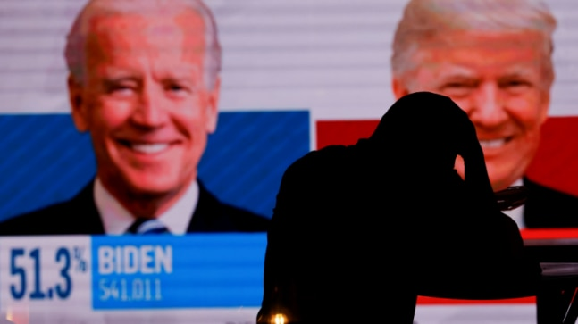 US election 2020: Betting markets favour Donald Trump over Joe Biden in tight race for White House