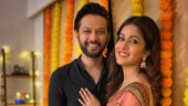 Vatsal Sheth and Ishita Dutta look made for each other in Karwa Chauth pics