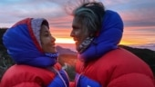 Milind Soman's favourite view every morning is wife Ankita Konwar. See Instagram post