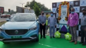 MG Motor India, Tata Power inaugurate first 60kW superfast EV charging station in Coimbatore