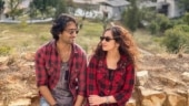 Shaheer Sheikh twins with wife Ruchikaa in red on their honeymoon in Bhutan