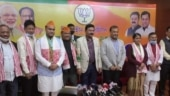 Expelled Congress MLAs Ajanta Neog, Rajdeep Gowala, former BPF MLA join BJP in Assam