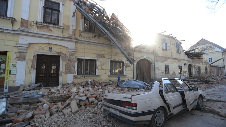 Teen Killed As 6 3 Magnitude Earthquake Rocks Croatia Day After Strong Tremors Visuals World News