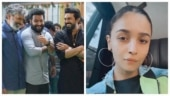Alia Bhatt finally joins team RRR for shooting in Hyderabad. See stunning pic
