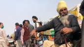 Specially-abled man cycles 450 km to support farmers' agitation at Singhu border