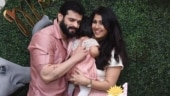 Karan Patel and Ankita Bhargava celebrate daughter Mehr's first birthday. See pic