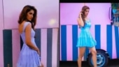 Disha Patani in this blue dress is simply gorgeous