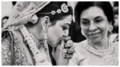 Kajal Aggarwal wishes mother-in-law on birthday with unseen pics from her wedding