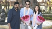 Kajal Aggarwal joins Acharya shoot with Gautam Kitchlu. Chiranjeevi welcomes couple