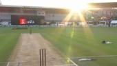 Sun stops New Zealand vs Pakistan 3rd T20I, fans say 'Just Napier things'