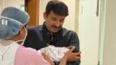 Manoj Tiwari blessed with a baby girl, shares pic