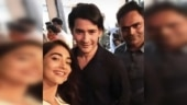 Pooja Hegde reunites with Maharshi co-star Mahesh Babu and Vamsi Paidipally. See pic