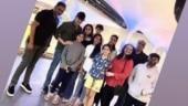 Mahesh Babu, Namrata enjoy night out with director Vamsi and kids. See pic