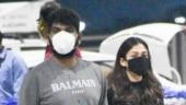 Nayanthara and Vignesh Shivan back to Chennai after Annatthe shoot got stalled. See pics