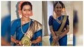 Niharika Konidela recreates her mom's engagement look for pre-wedding ritual. See pic
