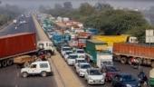 Farmers' protest chokes Delhi borders; Singhu, Tikri, Chilla closed for traffic, avoid NH 24