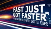Excitel announces revised FTTH plans starting at Rs 399 a month with no FUP and data limit