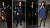 Ekta Kapoor, Guru Randhawa, Sussanne Khan at Karishma Tanna's birthday bash. See pics