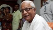 Former CM Buddhadeb Bhattacharya shows slight improvement in health, but remains critical