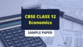 CBSE 12th Economics sample paper with marking scheme: Practice well to score full marks