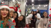 Erica Fernandes dresses as elf as she celebrates Christmas with Shubhaavi and Sonya