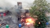 Massive fire in Ahmedabad building; ATM, shops damaged, no casualties