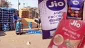 Fact Check: Reliance Jio is not selling food grains, sacks with Jio logos freely available