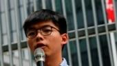 Hong Kong pro-democracy activists Joshua Wong, Agnes Chow, Ivan Lam jailed
