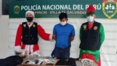 Peruvian undercover cops disguise as Santa, elf to arrest drug dealers in Lima