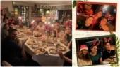 Kareena Kapoor and Saif Ali Khan host Christmas Eve dinner for friends. Inside pics