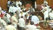 Ruckus in Karnataka legislative council as Congress MLCs remove Dy Chairman from seat, BJP says shameful