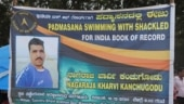 Karnataka teacher all set to create records in swimming