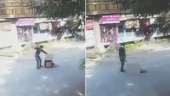 Caught on camera: Hubbali man hacks lover with machete in broad daylight