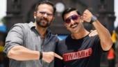 Simmba turns 2, Ranveer Singh thanks bossman Rohit Shetty for teaching him the ropes