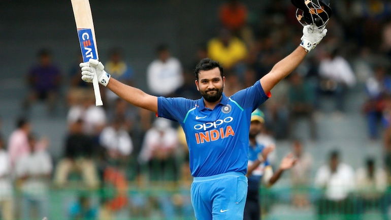 Rohit Sharma hits 3rd double hundred to extend ODI record (Reuters Photo)