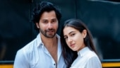 Varun Dhawan and Sara Ali Khan twin in white in new Instagram photos