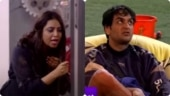 Vikas Gupta pushes Arshi Khan into the pool on Bigg Boss 14