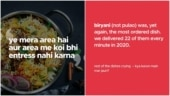 Zomato delivered 22 biryani orders per minute in 2020. Viral post