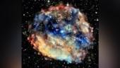 Nasa shares Chandra X-ray image of dazzling supernova