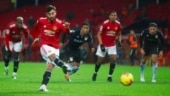 Premier League: Manchester United begin New Year with 2-1 home win over Aston Villa to go joint top with Liverpool