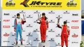 Ahura Racing's Anushriya Gulati wins LGB-4 rookie and women's title at JK Tyre Indian National Racing Championship
