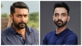 Indian cricketer Ajinkya Rahane bowled over by Suriya's Soorarai Pottru